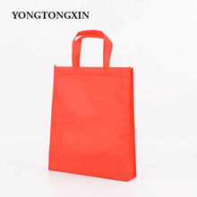 New design high quality foldable handled cheap non woven rice bag