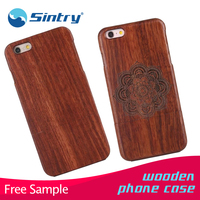 wooden phone case unfinished wood case for iphone 6, cheap back cover sublimation manufacturer unbreakable unbreakable smart