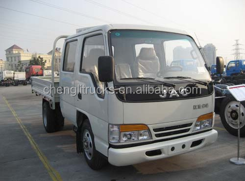 China low price Left hand drive JAC Light Duty 4x2 4X4 4 ton Truck Dimension