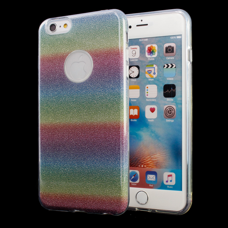 2017 hot !! 3 In 1 Nice design Glitter case for lg lv9 case, For LG lv9 Mobilel phone case cover