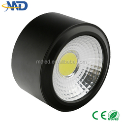 High power 3W COB led downlight 90-277V 3 years warranty Surface Mounted harga lampu down light