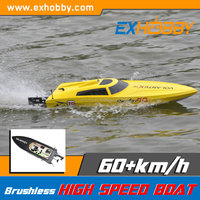 Hot Sell Remote Redio Boat Speed Boat yellow yachts for sale
