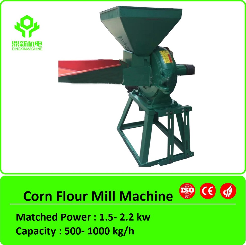 Small corn flour mill/home use flour milling machinery/mini flour making machinery