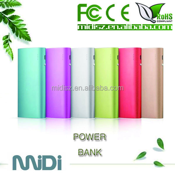 High quality backup portable charger power bank , power bank charger battery case