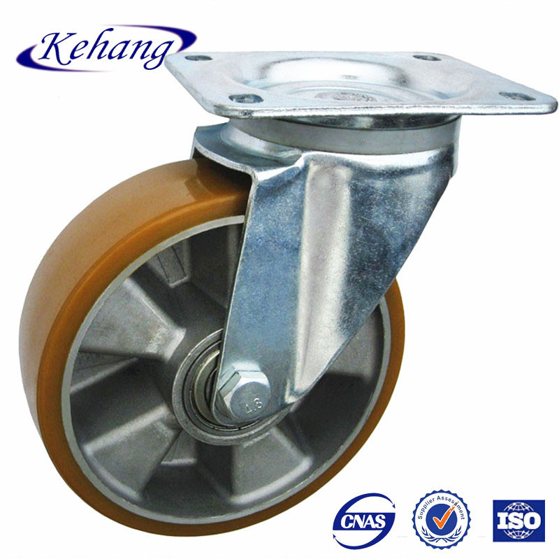 "transportation equipment 6"" swivel caster wheel Aluminum frame"