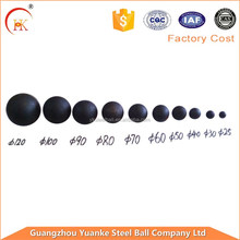YUANEK steel ball low price Forged Steel Grinding Wrought Iron Ball for Cement