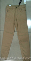 2015 wholesale stock of woman h&m pants