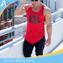 Best Selling Cotton Vest Gym Stringer Y Back Tank Tops for Men