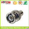 bnc male to rca female adaptor plated connector for cctv