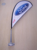 China Patent Mini Car Window Flag Banner For Used Car