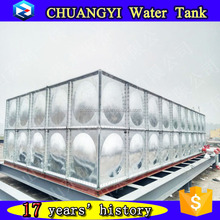 CE certified galvanized water pressure tank,cheapest galvanized steel tank price