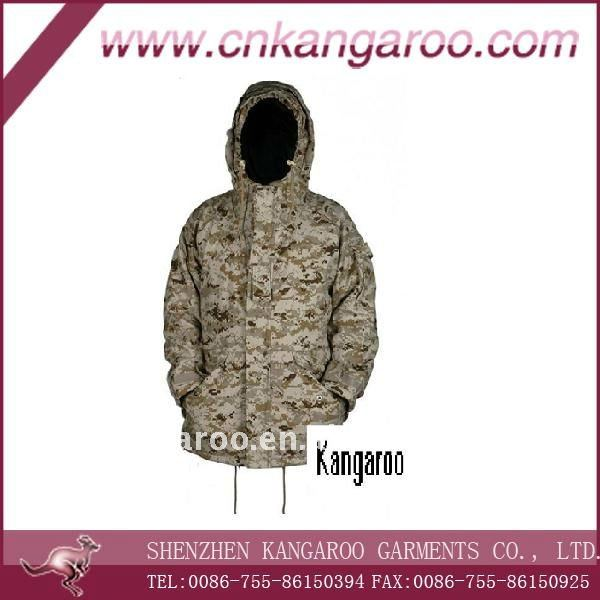 100%cotton military camouflage coat
