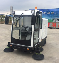 Full Closed Smart Sweeping Machine/Street Electrical Sweeper Vehicle