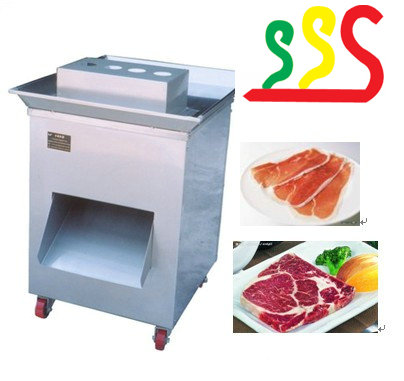 Large meat cutting machine for pork chops steak grilled chicken and so on