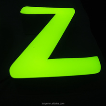 2018 hot High quality outdoor indoor LED light letters light up letters epoxy resin channel letter sign in cusomized color