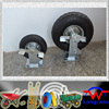"Best selling professional durable 10"" castor wheel with brake"