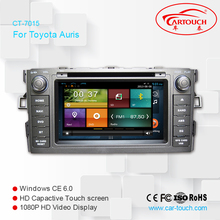 CE certification and 7 inch in dash Car dvd for Honda Accord for Toyota Auris