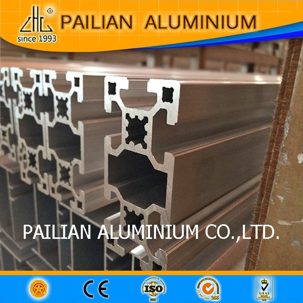 Alluminio profilo del sistema di piattaforma di lavoro per for Prezzo alluminio usato al kg 2016