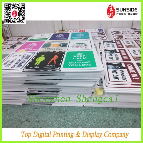 advertising printing dice cut 3mm pvc foam sheet board animal shape