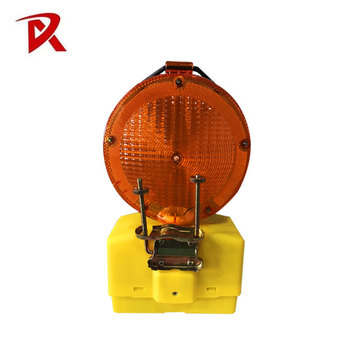 Road Construction Traffic Safety Led Barricade Light/Hazards Lamps