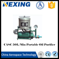CASC Tech CE & ISO Certified Portable 50L/Min Used/Waste Motor Oil Recycling Machine/Plant for Sale