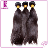 100% virign human hair no chemical processed tangle free no shed top 6A grade 20 inch virgin remy brazilian hair weave