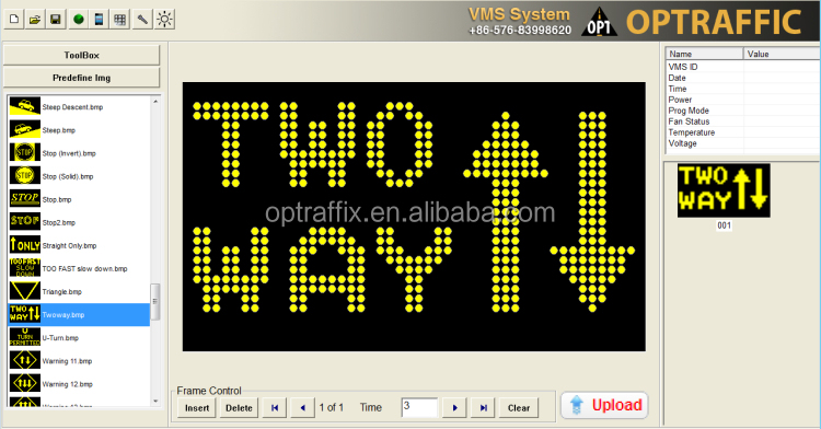 Fixed Variable Speed Limit Electronic Message Centers Traffic P10 LED Display Outdoor Screen