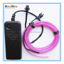 Neon wire led light rope, flexible electroluminescent lighting,el light chasing wire