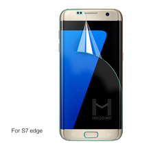 Fashion high quality 3 layers 0.12mm tpu cell phone screen protector for Samsung Galaxy S7 edge