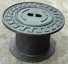 anti-dumping free made in china High quality cast iron water meter box manhole cover