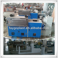 PP PE pipe single screw extruder