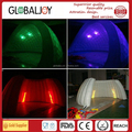 inflatable party tent with LED lights/lighten showcase event tent