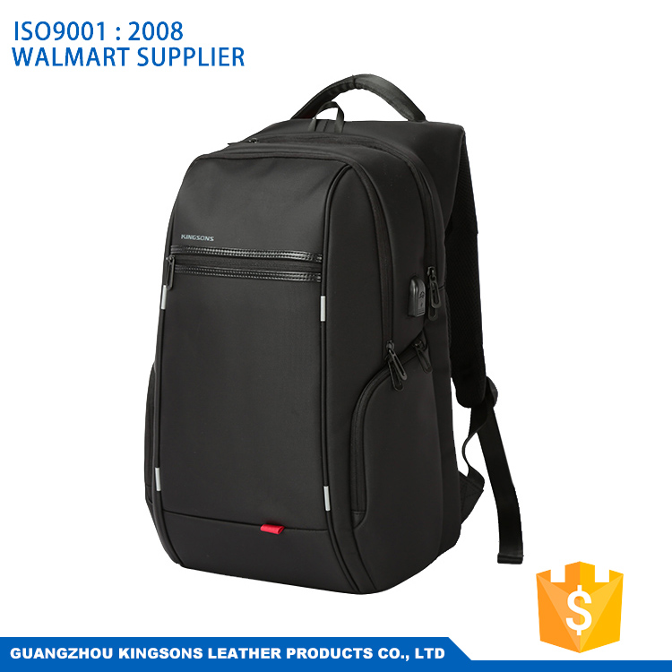 Business Style Outdoor Travel Computer Laptop Backpack Nylon Notebook Bag Case