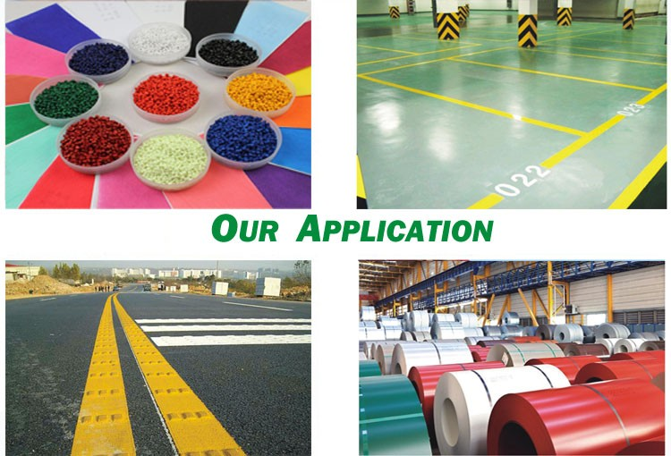 Inorganic Pigment (Chromes) For Coil Coating, Plastic, Paint