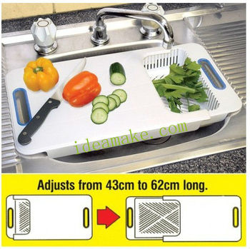 Over the Sink Plastic Chopping Board new Chopping block for 2015 new products