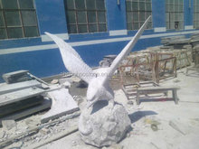 Outdoor Large Stone Eagle Statue