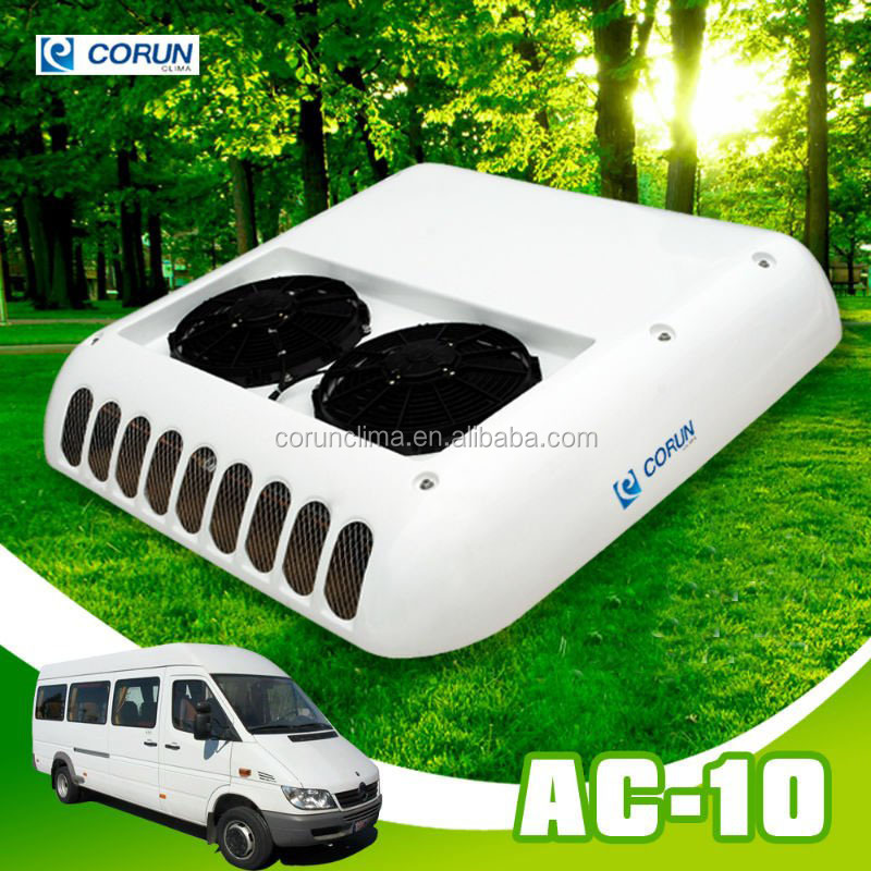 CE rooftop caravan air conditioner for van 10kw