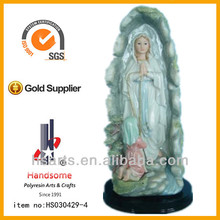 12 inch catholic traditional lourdes statue virgin mary