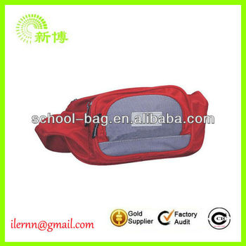 new design polyester zipper waist packs