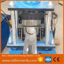 High Speed Automatic Hydraulic Galvanized Half Round Gutter Roll Forming Machine half round water steel rain gutter roll forming