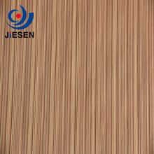 High Quality Zebrano Cheap Wood Veneer For Plywood MDF Covering