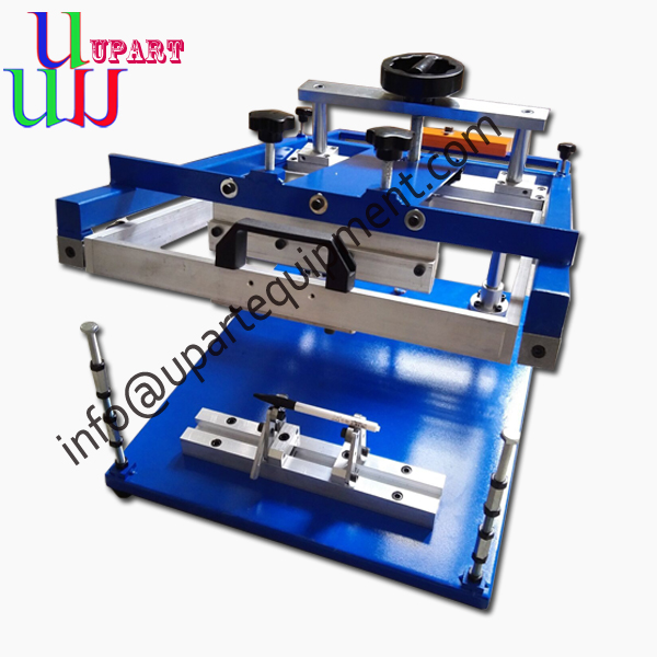 plastic bottles logo printing machine silk screen printing