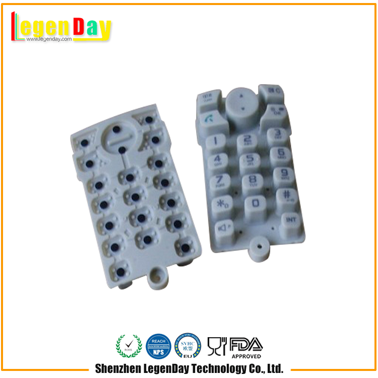 Factory Price Differenr Shape Home Appliance Silicone Button Mat
