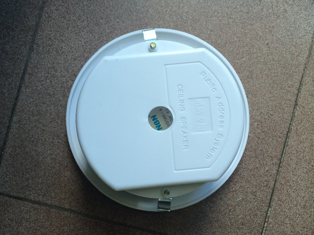 Indoor pa 3w 6w ceiling speaker for public address system