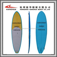 OEM Production Sandwich structure EPS foam board/ Fiberglass surfboard and SUP paddle board