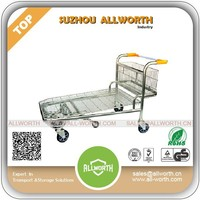Stainless Logistic Steel Warehouse Trolley