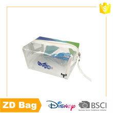 AZO free promotion clear pvc cosmetic bag