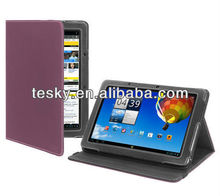 PURPLE TABLET STAND CASE FOR ACER ICONIA TAB A510 CASES