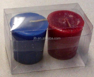 New Design PVC Printing Plastic Box for Candle Package Supplier Wholesale