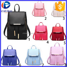 2016 Design Pu Leather Women <strong>Backpack</strong>